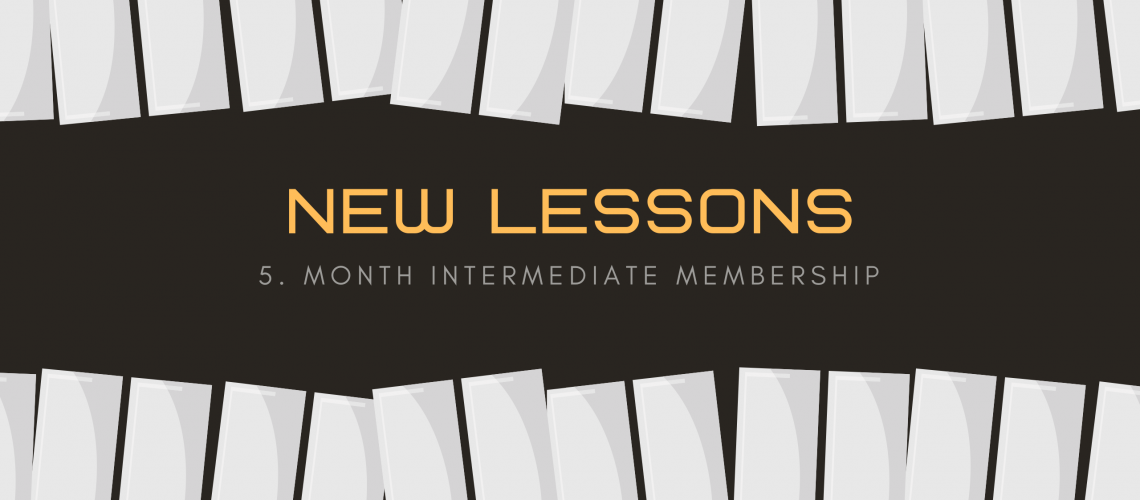 5. Intermediate Lessons
