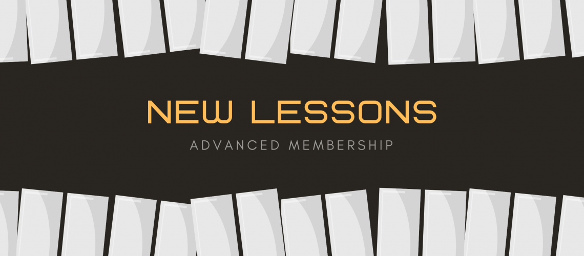 advanced New Lessons